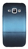 Samsung Galaxy J1 Mavi Noktalı Ultra İnce Silikon Kılıf