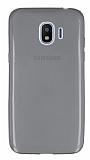 Samsung Grand Prime Pro J250F Ultra İnce Şeffaf Siyah Silikon Kılıf
