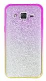 Samsung Galaxy J2 Simli Pembe Silikon Kılıf