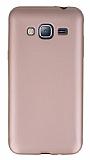 Samsung Galaxy J3 2016 Mat Rose Gold Silikon Kılıf