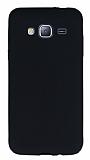 Samsung Galaxy J3 2016 Mat Siyah Silikon Kılıf