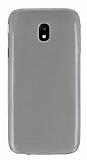 Samsung Galaxy J3 2017 Ultra İnce Şeffaf Siyah Silikon Kılıf
