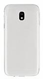 Samsung Galaxy J3 2017 Ultra İnce Şeffaf Silikon Kılıf