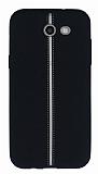 Samsung Galaxy J3 2017 Kadife Dokulu Siyah Silikon Kılıf