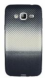 Samsung Galaxy J3 Silver Noktalı Ultra İnce Silikon Kılıf