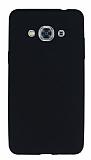 Samsung Galaxy J3 Pro Mat Siyah Silikon Kılıf