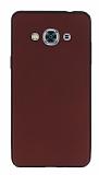 Samsung Galaxy J3 Pro Mat Bordo Silikon Kılıf