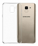 Samsung Galaxy J4 Ultra İnce Şeffaf Silikon Kılıf