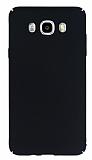 Samsung Galaxy J5 2016 Tam Kenar Koruma Siyah Rubber K�l�f