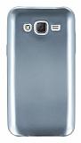 Samsung Galaxy J5 Metalik Silver Silikon K�l�f