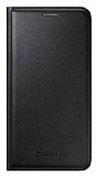 Samsung Galaxy J5 Orjinal Flip Wallet Siyah Kılıf