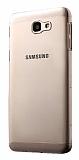 Samsung Galaxy J5 Prime Tam Kenar Koruma Şeffaf Rubber Kılıf