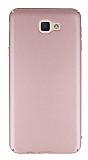 Samsung Galaxy J5 Prime Tam Kenar Koruma Rose Gold Rubber Kılıf