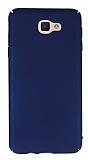 Samsung Galaxy J5 Prime Tam Kenar Koruma Lacivert Rubber Kılıf