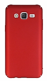 Samsung Galaxy J5 Tam Kenar Koruma Kırmızı Rubber Kılıf