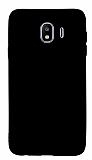 Samsung Galaxy J6 Plus Mat Siyah Silikon Kılıf