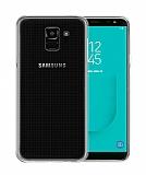 Samsung Galaxy J6 Plus Ultra İnce Şeffaf Silikon Kılıf