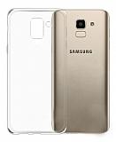 Samsung Galaxy J6 Ultra İnce Şeffaf Silikon Kılıf