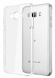 Samsung Galaxy J7 2016 Şeffaf Kristal Kılıf