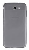 Samsung Galaxy J7 2017 Ultra İnce Şeffaf Siyah Silikon Kılıf