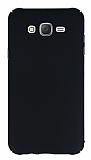 Samsung Galaxy J7 Tam Kenar Koruma Siyah Rubber K�l�f