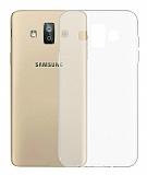 Samsung Galaxy J7 Duo Ultra İnce Şeffaf Silikon Kılıf