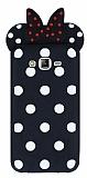 Samsung Galaxy J7 Fiyonklu Siyah Silikon Kılıf