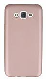 Samsung Galaxy J7 / Galaxy J7 Core Mat Rose Gold Silikon Kılıf