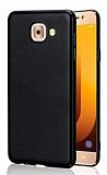 Samsung Galaxy J7 Max Tam Kenar Koruma Siyah Rubber Kılıf
