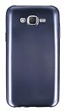 Samsung Galaxy J7 / Galaxy J7 Core Metalik Siyah Silikon Kılıf