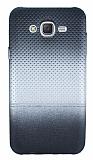 Samsung Galaxy J7 Silver Noktalı Ultra İnce Silikon Kılıf