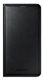 Samsung Galaxy J7 Orjinal Flip Wallet Siyah Kılıf