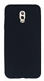 Samsung Galaxy C8 Mat Siyah Silikon Kılıf
