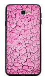 Samsung Galaxy J7 Prime / J7 Prime 2 Marble Pembe Silikon Kılıf