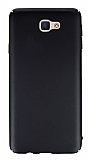 Samsung Galaxy J7 Prime Tam Kenar Koruma Siyah Rubber Kılıf