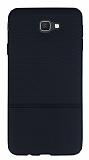 Samsung Galaxy J7 Prime Ultra İnce Noktalı Siyah Silikon Kılıf