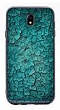 Samsung Galaxy J7 Pro 2017 Marble Yeşil Silikon Kılıf