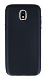Samsung Galaxy J7 Pro 2017 Metal Kamera Korumalı Siyah Silikon Kılıf