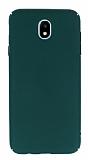 Samsung Galaxy J7 Pro 2017 Tam Kenar Koruma Yeşil Rubber Kılıf