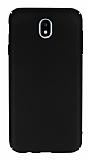 Samsung Galaxy J7 Pro 2017 Tam Kenar Koruma Siyah Rubber Kılıf