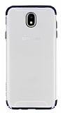 Eiroo Radiant Samsung Galaxy J5 Pro 2017 Siyah Kenarlı Şeffaf Rubber Kılıf