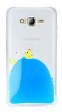 Samsung Galaxy J7 Sulu Ördek Rubber Kılıf