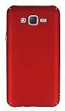 Samsung Galaxy J7 Tam Kenar Koruma Kırmızı Rubber Kılıf