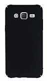 Samsung Galaxy J7 Tam Kenar Koruma Siyah Rubber Kılıf