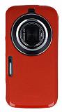 Samsung Galaxy K zoom Kırmızı Silikon Kılıf
