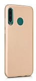 Samsung Galaxy M30 Mat Gold Silikon Kılıf