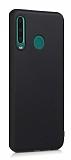 Samsung Galaxy M30 Mat Siyah Silikon Kılıf
