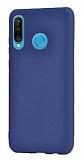 Samsung Galaxy M30 Mat Lacivert Silikon Kılıf