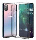 Samsung Galaxy M30S Ultra İnce Şeffaf Silikon Kılıf