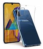 Samsung Galaxy M31 Ultra İnce Şeffaf Silikon Kılıf